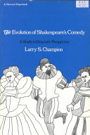 Evolution of Shakespeare's Comedy