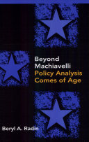 Beyond Machiavelli