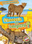 Pdf Cheetah or Leopard? Telecharger