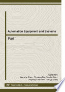 Automation Equipment and Systems Book