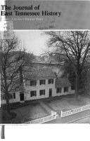 The East Tennessee Historical Society s Publications