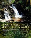 Priority Pollutants Monitoring in Water Book