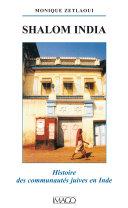 Pdf Shalom India - Histoire des communautés juives en Inde Telecharger