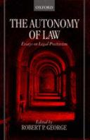 The Autonomy of Law
