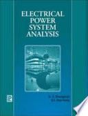 Electrical Power System Analysis Book PDF