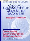 Intelligence Community Book