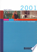 Combat Poverty Agency Annual Report 2001
