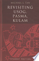 """Revisiting Usog, Pasma, Kulam"" by Michael L. Tan, Michael T. Tan"