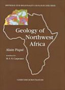 Geology of Northwest Africa Book