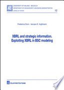 XBRL and strategic information. Exploiting XBRL in BSC modeling