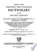 Laird & Lee's Webster's New Standard Dictionary of the English Language