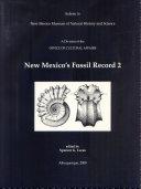 New Mexico's Fossil Record 2 Pdf/ePub eBook