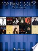 Pop Piano Solos