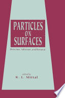 Particles On Surfaces Book PDF