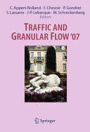 Traffic and Granular Flow ' 07