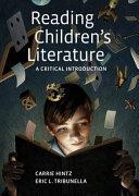 Reading Children S Literature Book