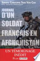 Journal d'un soldat français en Afghanistan  : Un témoignage inédit