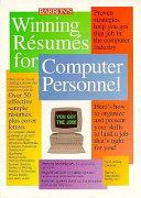 Winning Résumés for Computer Personnel