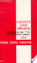 Grants and Awards for the Fiscal Year Ended     Book