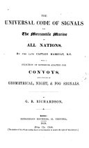 The Universal Code of Signals for the Mercantile Marine of All Nations ebook