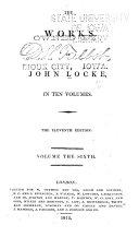 A letter concerning toleration  being a Translation of the Epistola de tolerantia  Second fourth letter for toleration