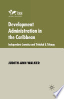 Development Administration in the Caribbean Book