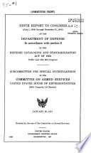Committee Prints Of The Committee On Armed Services