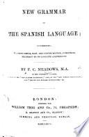 New Grammar of the Spanish Language