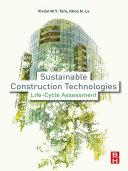 Sustainable Construction Technologies
