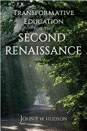 Transformative Education for the Second Renaissance Pdf/ePub eBook
