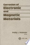 Corrosion Of Electronic And Magnetic Materials Book PDF