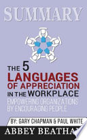Summary: the 5 Languages of Appreciation in the Workplace