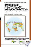 Handbook Of Climate Change And Agroecosystems Book PDF