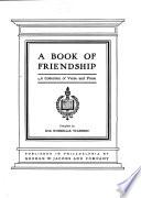 A Book Of Friendship