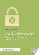 Sustainability Decoded Book