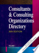 Consultants & Consulting Organizations Directory