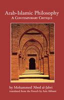 Arab-Islamic Philosophy