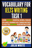Vocabulary for Ielts Writing Task 1
