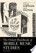 The Oxford Handbook of Mobile Music Studies Book