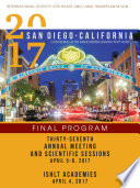 Ishlt 2017 Final Program