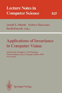 Applications of Invariance in Computer Vision
