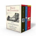 David McCullough  Great Achievements in American History