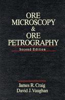 Ore Microscopy and Ore Petrography Book