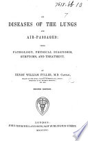 On Diseases of the Lungs and Air passages