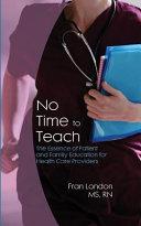 No Time to Teach