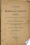History of Marshall County  Dakota