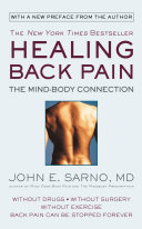 Book cover for Healing Back Pain by John E. Sarno