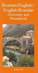 Bosnian English English Bosnian Dictionary and Phrasebook