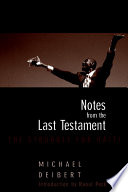 Notes From The Last Testament Book PDF