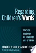 Regarding Children s Words